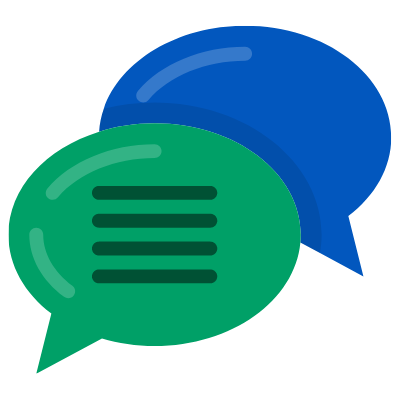 Text Message Thread Icon